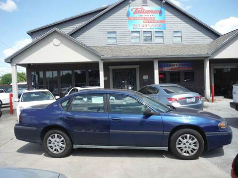 2005 Chevrolet Impala for sale at Don Jacobson Automobiles in Houston TX