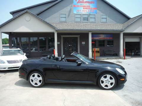 2004 Lexus SC 430 for sale at Don Jacobson Automobiles in Houston TX