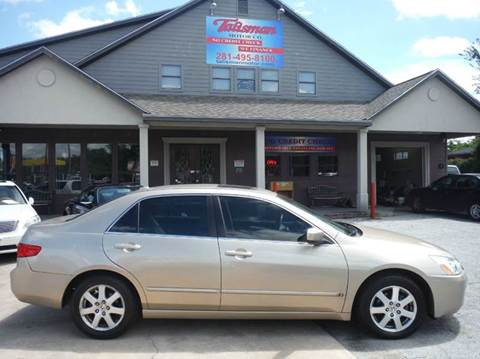 2005 Honda Accord for sale at Don Jacobson Automobiles in Houston TX