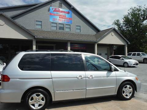 2001 Honda Odyssey for sale at Don Jacobson Automobiles in Houston TX