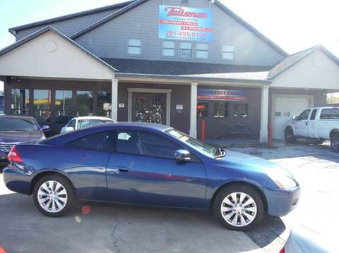 2003 Honda Accord for sale at Don Jacobson Automobiles in Houston TX