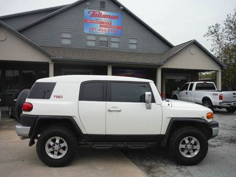 2010 Toyota FJ Cruiser for sale at Don Jacobson Automobiles in Houston TX