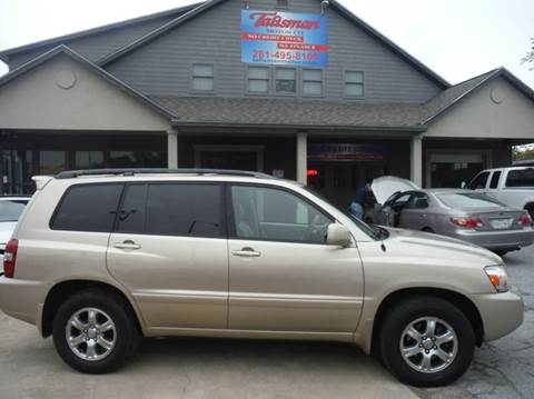 2007 Toyota Highlander for sale at Don Jacobson Automobiles in Houston TX