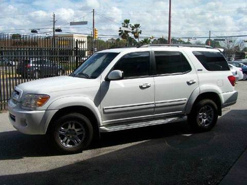 2005 Toyota Sequoia for sale at Don Jacobson Automobiles in Houston TX
