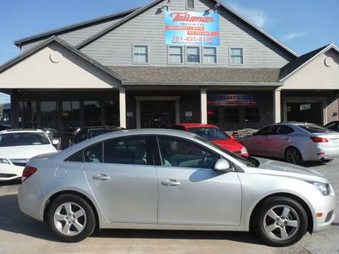 2014 Chevrolet Cruze for sale at Don Jacobson Automobiles in Houston TX