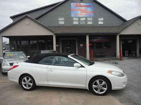 2004 Toyota Camry Solara for sale at Don Jacobson Automobiles in Houston TX