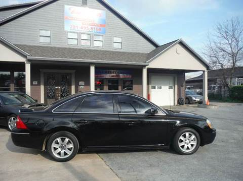 2007 Ford Five Hundred for sale at Don Jacobson Automobiles in Houston TX