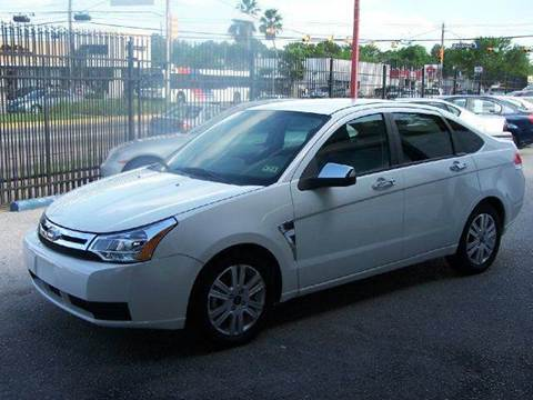 2008 Ford Focus for sale at Don Jacobson Automobiles in Houston TX