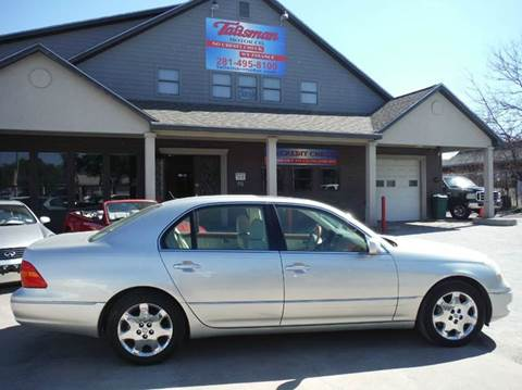 2003 Lexus LS 430 for sale at Don Jacobson Automobiles in Houston TX