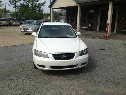 2007 Hyundai Sonata for sale at Don Jacobson Automobiles in Houston TX