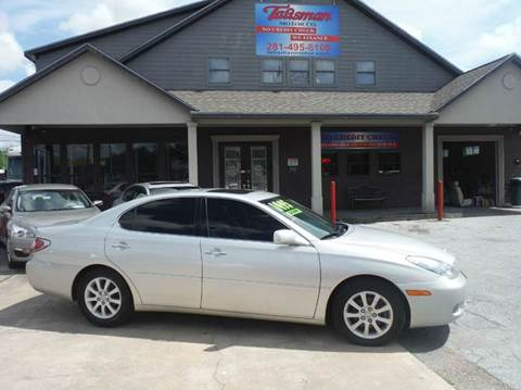 2003 Lexus ES 300 for sale at Don Jacobson Automobiles in Houston TX