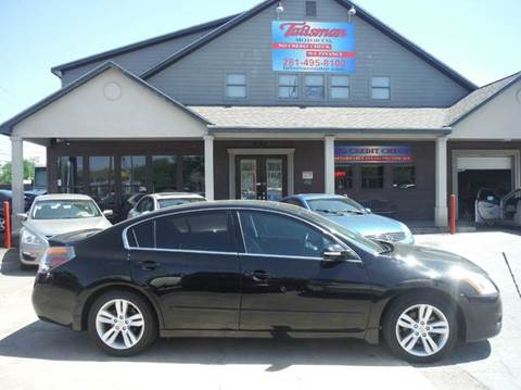 2012 Nissan Altima for sale at Don Jacobson Automobiles in Houston TX