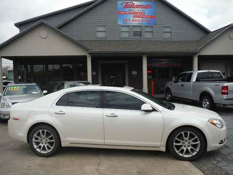 2012 Chevrolet Malibu for sale at Don Jacobson Automobiles in Houston TX