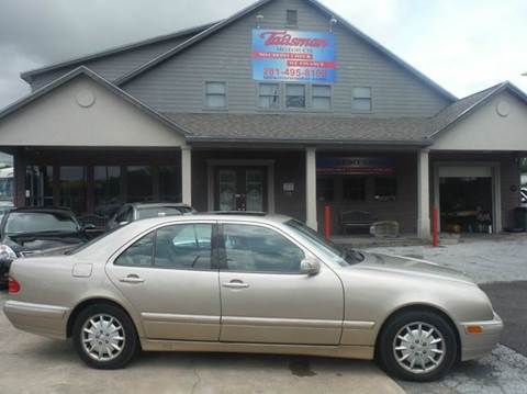 2001 Mercedes-Benz E-Class for sale at Don Jacobson Automobiles in Houston TX