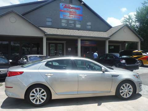 2014 Kia Optima for sale at Don Jacobson Automobiles in Houston TX