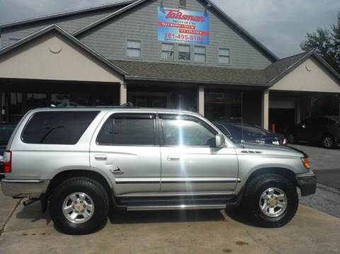 2002 Toyota 4Runner for sale at Don Jacobson Automobiles in Houston TX