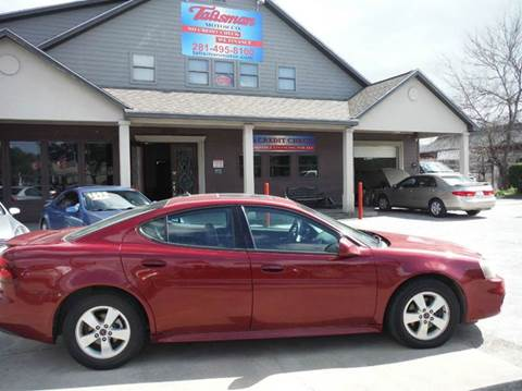2005 Pontiac Grand Prix for sale at Don Jacobson Automobiles in Houston TX