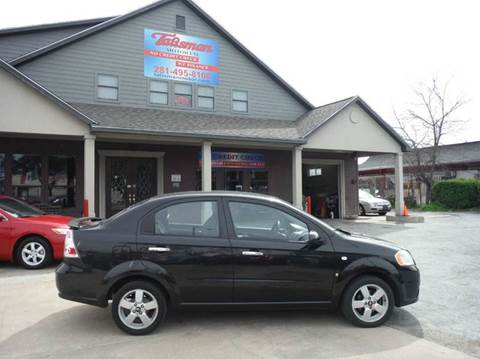 2008 Chevrolet Aveo for sale at Don Jacobson Automobiles in Houston TX