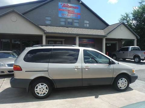2000 Toyota Sienna for sale at Don Jacobson Automobiles in Houston TX