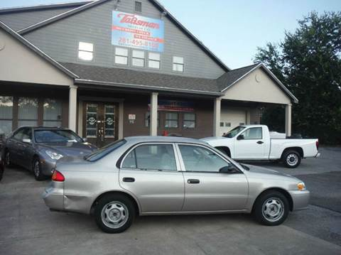 2002 Toyota Corolla for sale at Don Jacobson Automobiles in Houston TX