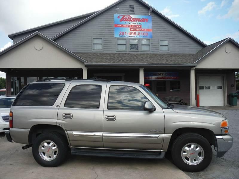 2002 GMC Yukon for sale at Don Jacobson Automobiles in Houston TX