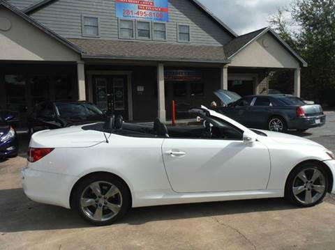 2010 Lexus IS 250C for sale at Don Jacobson Automobiles in Houston TX