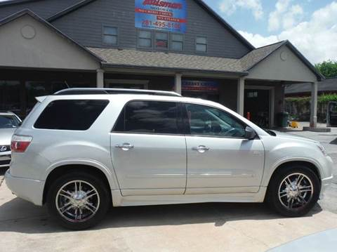 2009 GMC Acadia for sale at Don Jacobson Automobiles in Houston TX