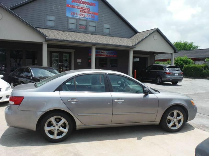 2006 Hyundai Sonata GLS V6 4dr Sedan   Houston TX