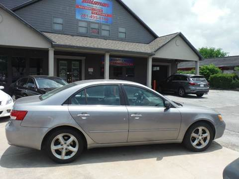 2006 Hyundai Sonata for sale at Don Jacobson Automobiles in Houston TX