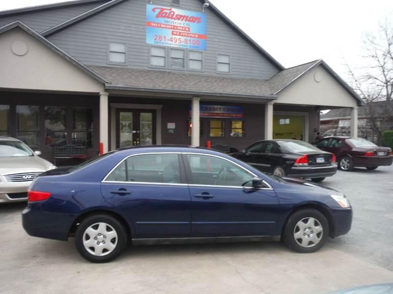 2005 Honda Accord LX 4dr Sedan   Houston TX