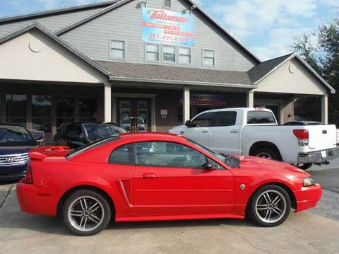 2004 Ford Mustang for sale at Don Jacobson Automobiles in Houston TX