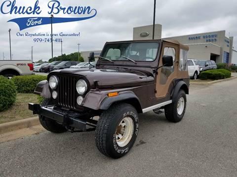 1980 Jeep CJ-5 for sale in Schulenburg, TX