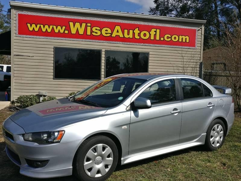 2011 Mitsubishi Lancer For Sale At WISE AUTO SALES In Ocala FL