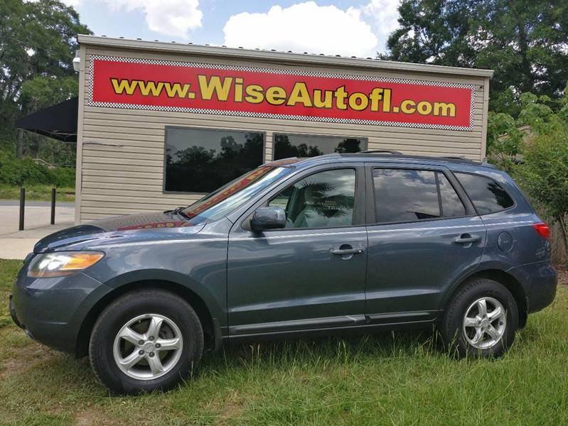 2007 Hyundai Santa Fe For Sale At WISE AUTO SALES In Ocala FL