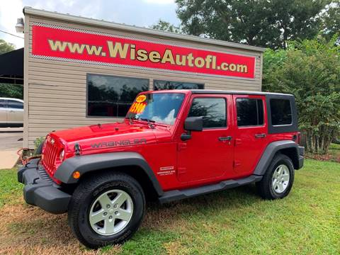 2010 Jeep Wrangler Unlimited for sale in Ocala, FL