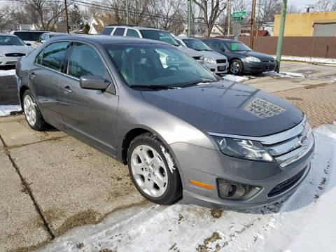 2010 Ford Fusion for sale at Jarvis Motors in Hazel Park MI