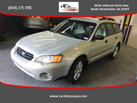 2007 Subaru Outback for sale in North Chesterfield, VA