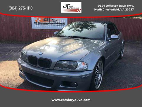 2004 BMW M3 for sale in North Chesterfield, VA
