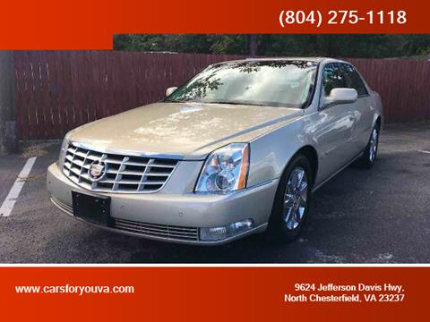 2009 Cadillac DTS for sale in North Chesterfield, VA