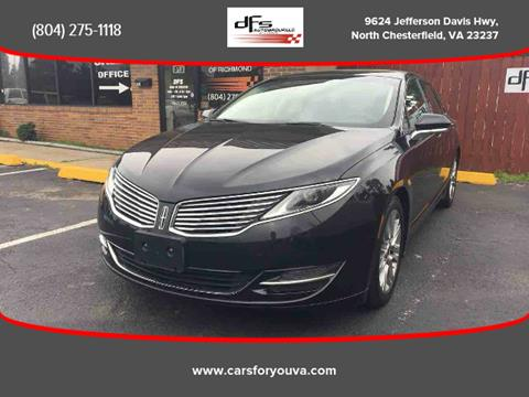 2014 Lincoln MKZ for sale in North Chesterfield, VA