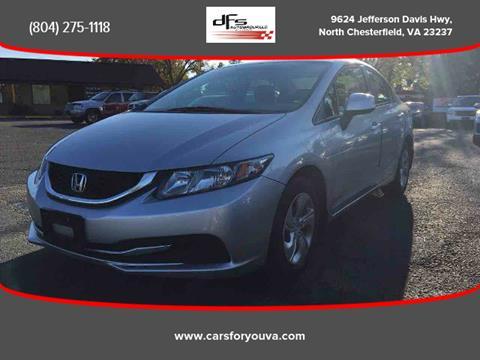 2013 Honda Civic for sale in North Chesterfield, VA