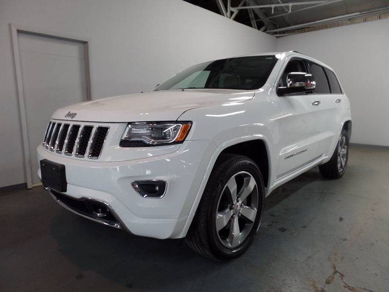 2016 Jeep Grand Cherokee Overland 4x4 4dr SUV
