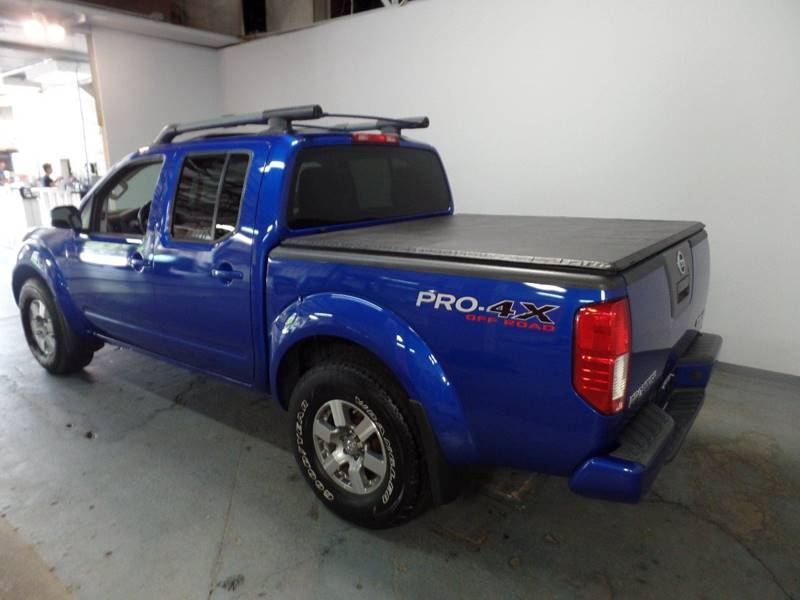 ... 2012 Nissan Frontier PRO 4X 4x4 4dr Crew Cab SWB Pickup 5A In Cleveland  ...