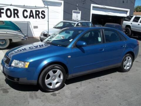 2002 Audi A4 for sale at Top Notch Auto Sales in San Jose CA