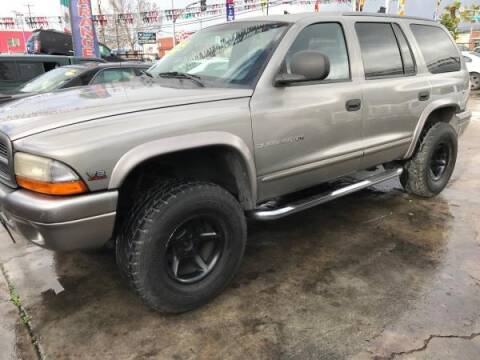 2000 Dodge Durango for sale at Top Notch Auto Sales in San Jose CA