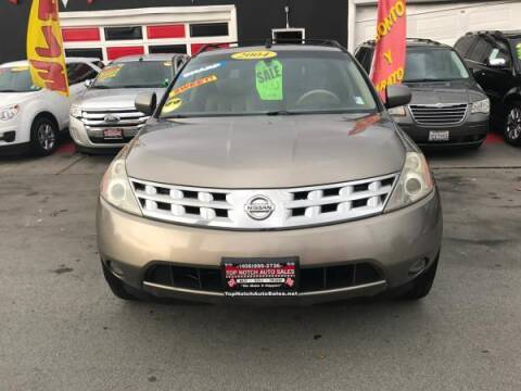 2004 Nissan Murano for sale at Top Notch Auto Sales in San Jose CA