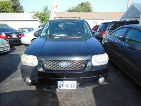 2005 Ford Escape for sale at Top Notch Auto Sales in San Jose CA