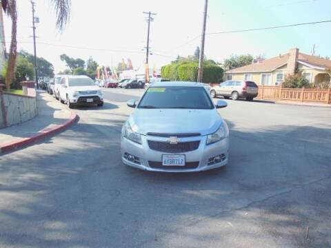 2012 Chevrolet Cruze for sale at Top Notch Auto Sales in San Jose CA