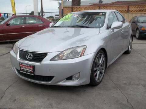 2008 Lexus IS 250 for sale at Top Notch Auto Sales in San Jose CA