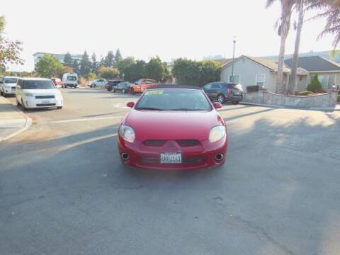2007 Mitsubishi Eclipse Spyder for sale at Top Notch Auto Sales in San Jose CA